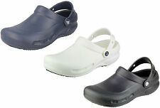 UNISEX CROCS 'BISTRO' SYNTHETIC SLIP ON SLING BACK CASUAL WIDE FIT SHOES