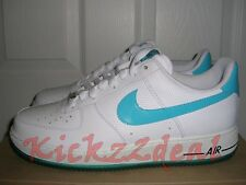 NEW NIKE AIR FORCE ONE 1 07 shoe White/Marina Blue MENS size 11.5 AF1 315122-110