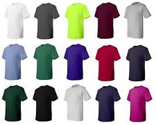 Hanes Mens T Shirt with Pocket ComfortSoft Tee 100% Cotton S M L XL 2XL 3XL 5590