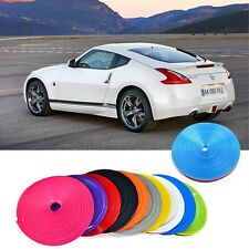 "Wheel Rim 14""-22"" Tire Edge Protector Tire Guard Line Car Insert Trim 10 Colors"