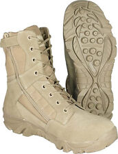 MIL-COM RECON SIDE ZIP BOOTS AIRSOFT SECURITY MILITARY HIKING WORK TACTICAL