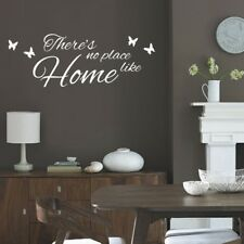 There's No Place Like Home Wall Quote lounge bedroom decal sticker vinyl quotes