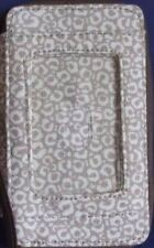 REDUCED PRICE! Thirty One Timeless Wristlet, Pink Med, Blk plaid, Say, NO STRAP!