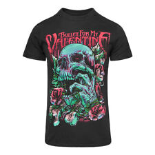 Official Bullet For My Valentine Unisex Black Red Skull Eyes T Shirt ALL SIZES