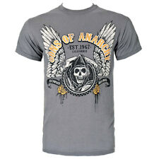 Official Sons Of Anarchy Unisex Winged Logo T Shirt ALL SIZES - FX Merchandise