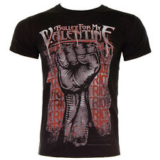 Official Bullet For My Valentine BFMV Unisex Black Riot T Shirt ALL SIZES