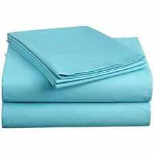 Luxury Bedding Collection 1000TC 100%Egyptian Cotton Aqua Blue Select Size&Item