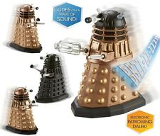 """BBC DOCTOR WHO - ELECTRONIC MOVING DALEK 3.75"""" FIGURE - CHOOSE YOUR DESIGN"""