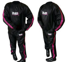 RAD™  Heavy Duty Sweat Suit Sauna Exercise Gym Suit Fitness Weight Loss Pink
