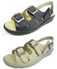 PADDERS LADIES PHOENIX CASUAL  OPEN TOE WIDE FITTING SANDALS SHOES