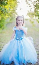 FROZEN DRESS  ELSA GIRL PRINCESS  COSTUME KIDS PARTY FANCY SNOW QUEEN