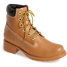 JEFFREY CAMPBELL DELUGE LACE UP WATERPROOF TIMBERLAND WHEAT ANKLE SNOW BOOT K33