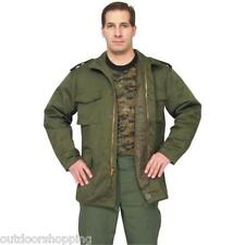 Olive Drab M65 Field Jacket w/Liner - Snap Up Pockets, Heavy Duty Zipper