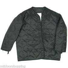 Black M-65 FIELD QUILTED OUTERSHELL JACKET LINER – Great For Additional Warmth