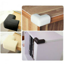 4 x Baby Soft Rubber Table Desk Edge Corner Safety Cushion Protector Guard Cover