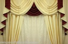 """SWAGS AND TAILS + CURTAINS SETS, FITS WINDOWS 45-60"""" (115-152cm) WIDE, BE QUICK"""