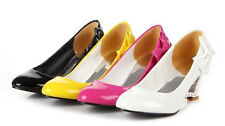 Hot sales !sweet round head heart-shaped Low to help Bow Women's Shoes