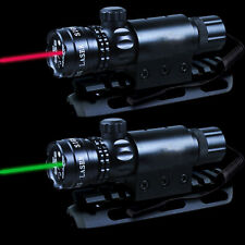 Green/RED LED Tactical Laser Scope Sight W/Remote Switch Picatinny Rail Mount AR