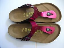 BIRKENSTOCK - GIZEH - MAGENTA VARNISH RRP $100 SAVE $27