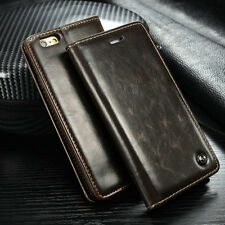 "For iPhone 6 6 Plus 5.5"" Luxury Vintage Glossy PU Leather Case Flip Wallet Cover"