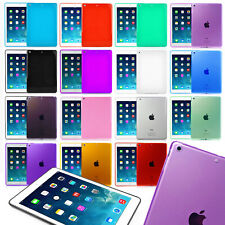 Fundas de Silicona para Apple iPad Air 1 / Air 2 Colores Transparentes Caucho