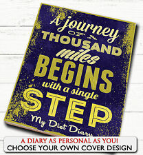 3 MONTH DIET DIARY/TRACKER/NOTEBOOK/WEIGHT LOSS/SLIMMING LOG/PLAN/LOVE FITNESS