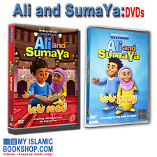 ALI AND SUMAYA: LET'S PRAY & LET'S READ DVD MUSLIM CHILDREN LEARN QURAN PRAYER