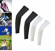 Sport Skin Arm Sleeve Cooling UV Cover Sun protective Stretch Armband Basketball