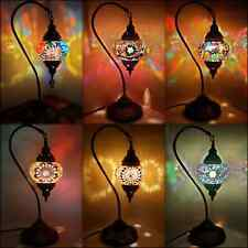 Colourful Turkish Lamps / Tiffany / Moroccan Lamps Glass Mosaic Desk Table Lamps