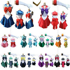 Soldier Sailor Moon Japanese Anime Cosplay Clothes COS Costume,Customized Accept