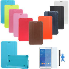 Ultra Slim Leather Case Cover For Samsung Galaxy Tab 4 7Inch SM-T230 Special