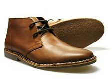 Mens Red Tape Gobi Brown Leather Lace Up Ankle Desert Boots Sizes UK 7 - 11