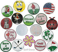 Navika Golf Hat Clip with Removable Ball Marker - *CHOOSE style*