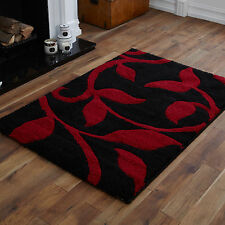 LARGE EXTRA LARGE MEDIUM MODERN SMALL RED BLACK CARVED CHEAP QUALITY DESIGN RUGS