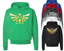 The Legend Of Zelda Hoodie Triforce logo Sweatshirt Nintendo Gamer Video game