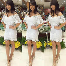 1PC Womens Lace Sexy Party Cocktail Summer Bandage Bodycon Prom Dress Cheap