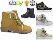 Ladies Flat Trainer Lace Up Hi-Top Leopard Print Zip Boot Cheeta Shoes Size 3-8