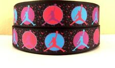 """1"""" New Style Colorful  Air Jordan  Grosgrain Ribbon- COMBINED SHIPPING OFFERED!"""