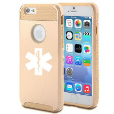 For iPhone 5 5s 5c 6 Plus Shockproof Impact Hard Case Cover Star Of Life EMT