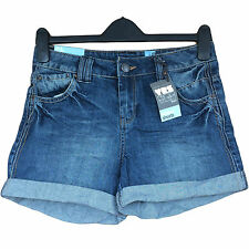 NEW LOOK WOMENS BLUE DENIM YES YES BOYFRIEND SUMMER SHORTS BRAND NEW SZ 6-18