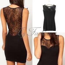 ★ZANZEA NEW Sexy Ladies Lace Bodycon Evening Party Cocktail Mini Dress Clubwear