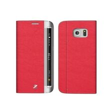 ZENUS Samsung Galaxy S6 Edge Leather Cover Card Pocket Case 3 Color