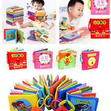 Intelligence development Cloth Cognize Book Educational Toy for Kid Baby CATOP