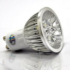 10x 6W GU10 High Power LED Lights Bulbs Dimmable Day/Warm White Buy 8 Get 2 Free