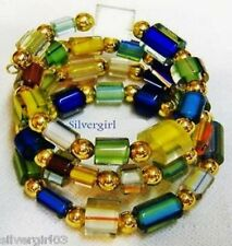 Wire Wrapped Bracelets All Colors and Mediums