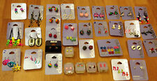 NOVELTY FUN EARRINGS 80'S, HEN NIGHT,LOADS OF STYLES GREAT FOR PARTY BAG FILLERS