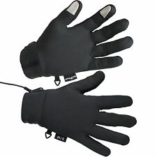 Touchscreen Weightless Battery-Pwrd Far-Infrared Heated Glove Liner by ActiVHeat