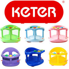 New Baby Bath Ring Seat Tub Unisex KETER Help Mother Infant Non Toxic Anti Slip