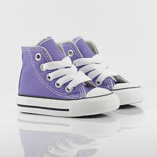 Kids Toddlers/Infant Converse All Star Chuck Taylor Hi Hollyhock Purple Trainers