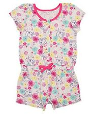 Girls official PEPPA PIG stone & pink playsuit 12-18m 18-24m 2-3 3-4 4-5 & 5-6